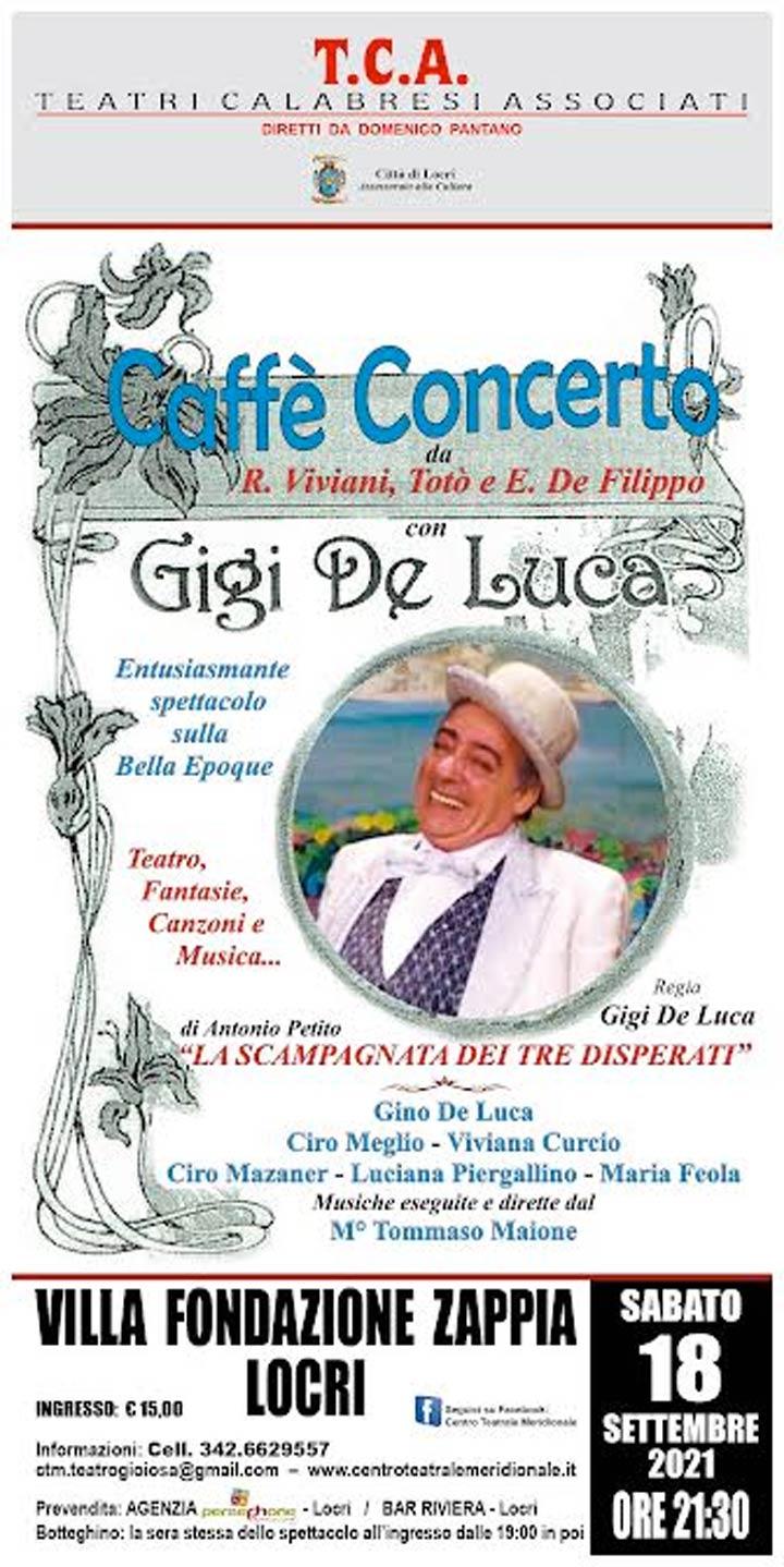 Caffè concerto a Locri