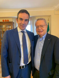 Roberto Occhiuto e Giuseppe Nisticò