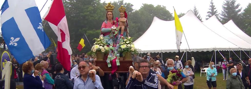 La festa della Madonna della Montagna in Canada
