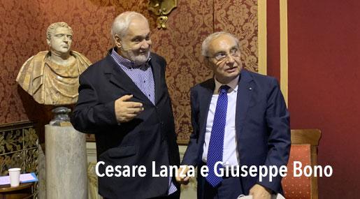 Cesare Lanza e Giuseppe Bono