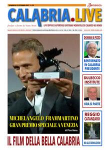 Calabria.live suppl. DOMENICA 19 settembre 2021