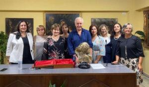 Luciano Regolo al Premio Gens Aurea