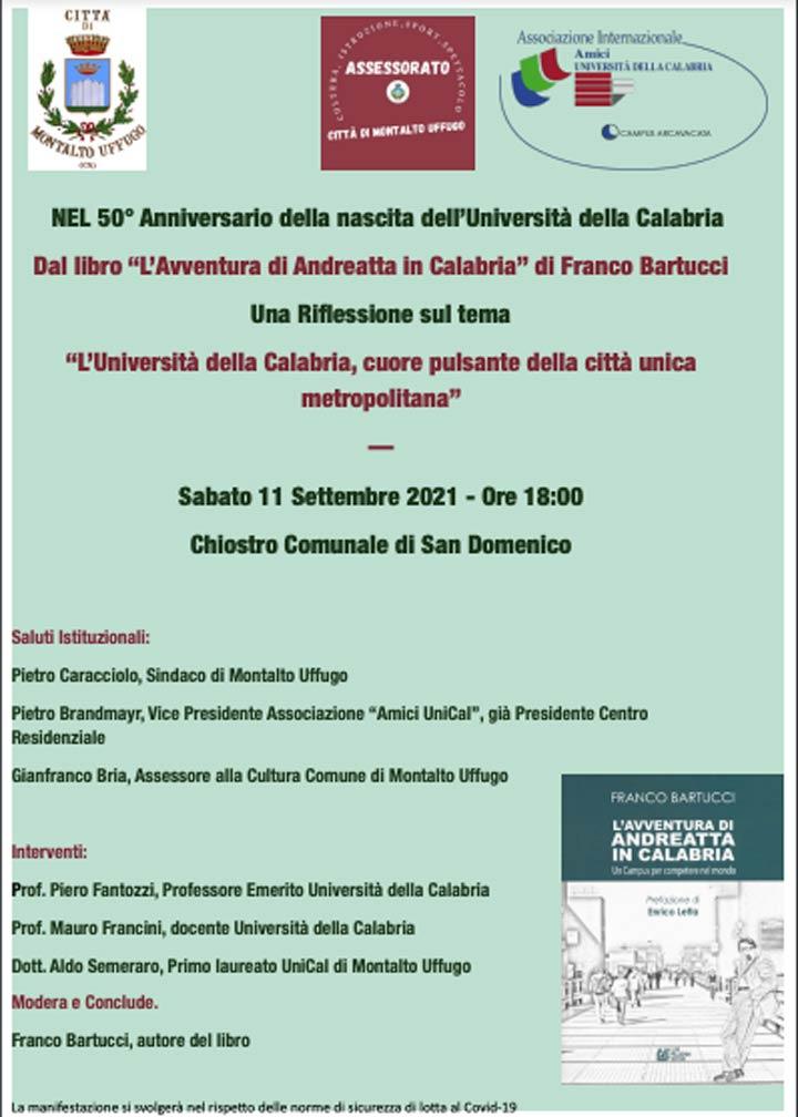 Libro Andreatta in Calabria