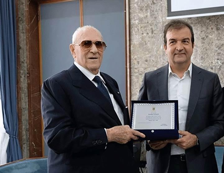 Giuseppe Carratelli e Mario Occhiuto