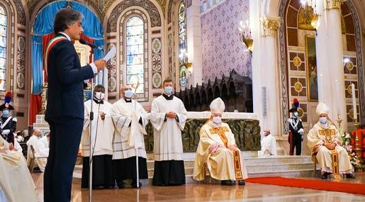 Cero Votivo Madonna della Consolazione Reggio Calabria