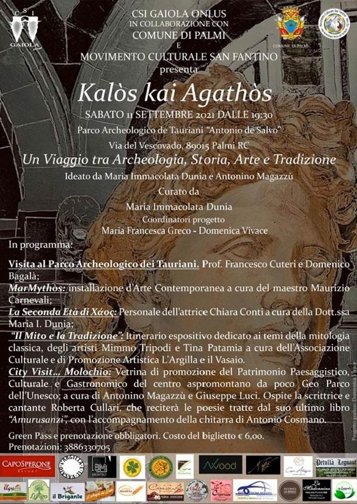 "progetto ""Kalòs kai Agathòs"" a Palmi"