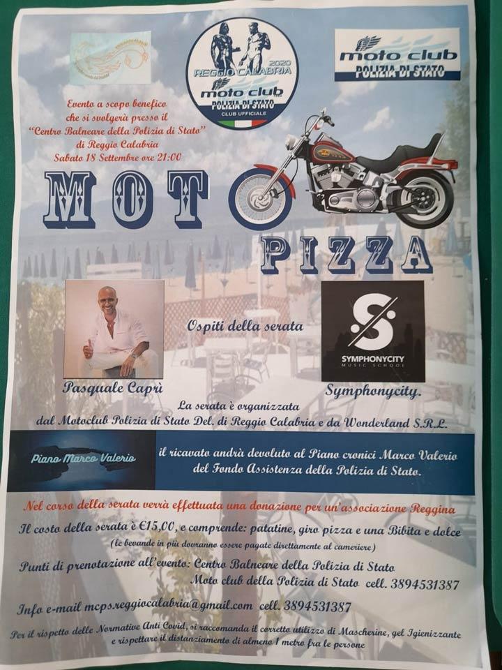 Moto Pizza a Reggio