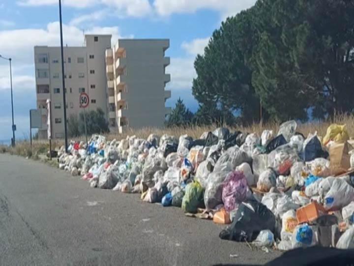 rifiuti a Reggio