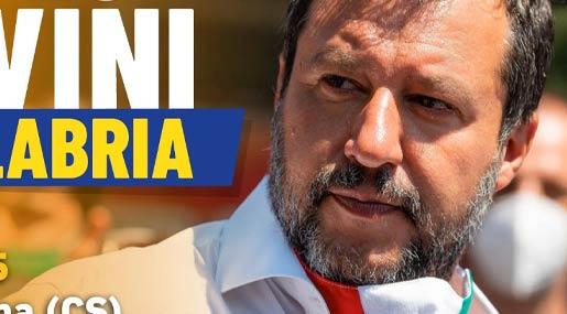 Salvini in Calabria