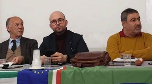 Costa, Sapia e Merlino Cgil, Cisl e Uil Calabria