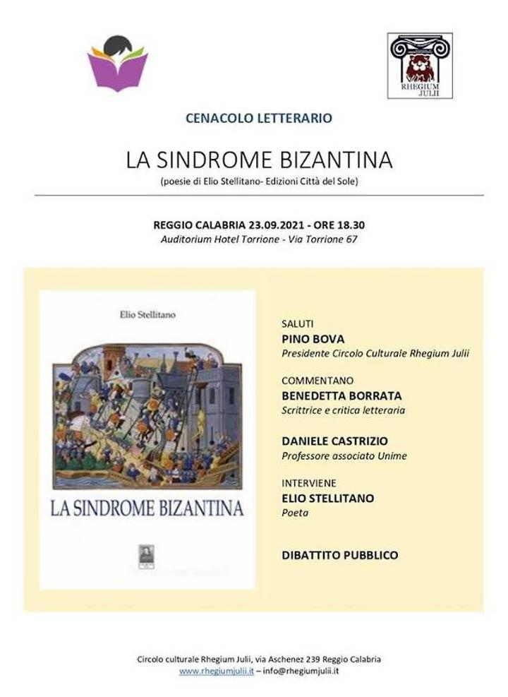 presentazione libro Elio Stellitano a Reggio
