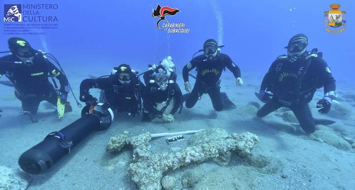ritrovamento subacqueo Ancora
