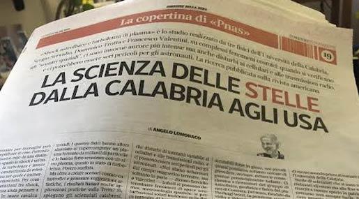Unical su Corriere della Sera