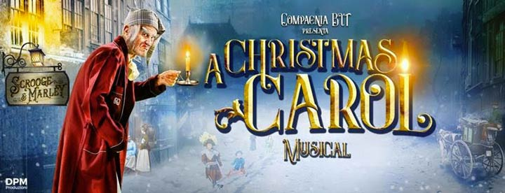 A Christmas carol a Reggio a dicembre