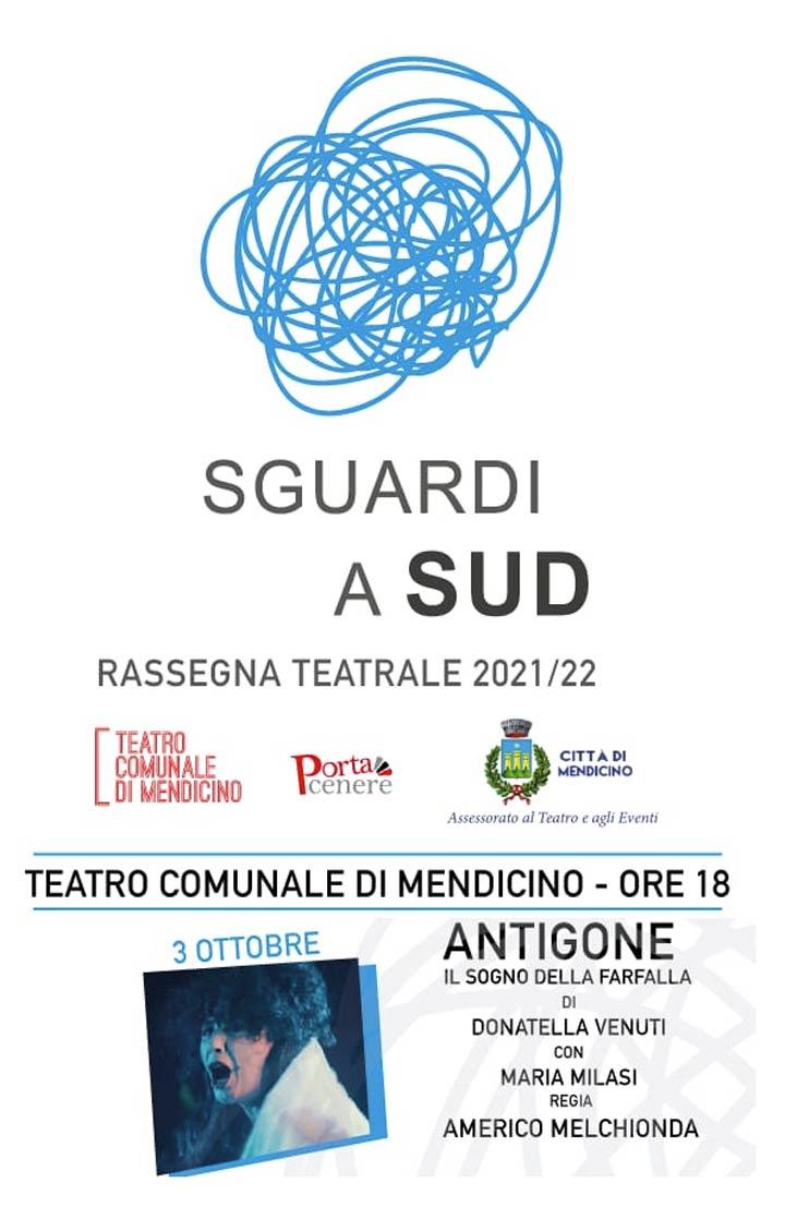 spettacolo Antigone a Mendicino