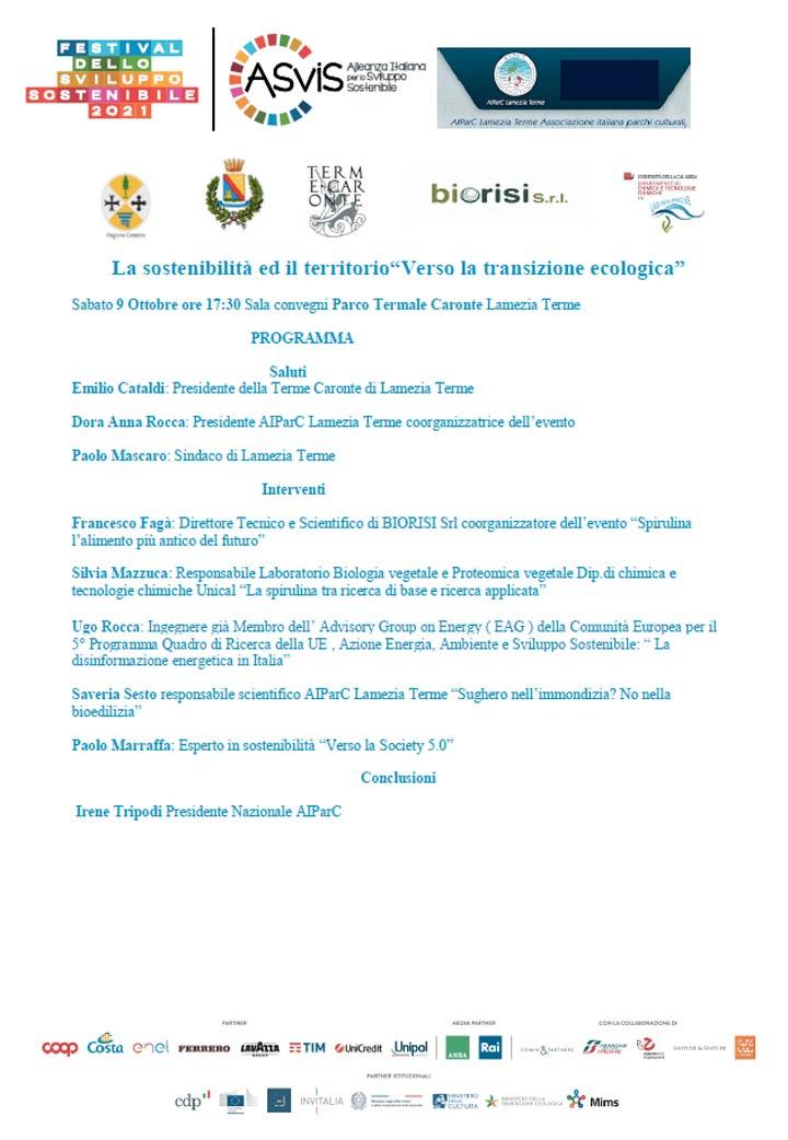 Fetsival della Sostenibilità a Lamezia Terme