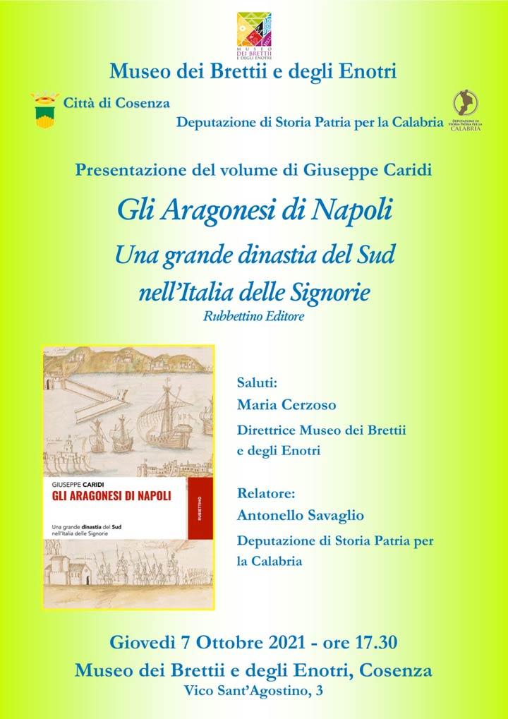 gli aragonesi di napoli al Museo dei Bretii e degli Enotri