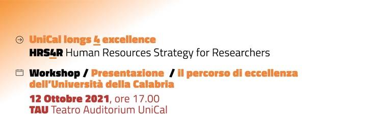 """La presentazione di """"Human Resources Strategy for Researchers"""""""