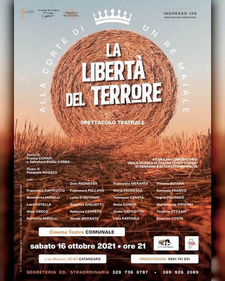 la libertà del terrore